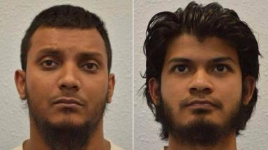 Junead Khan (left) and his uncle Shazib Khan were both convicted of preparing to go to Syria to join IS.