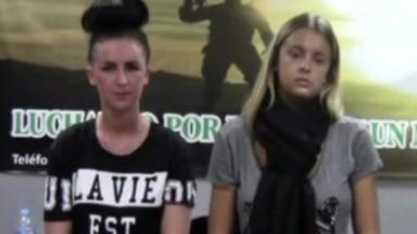 Cocaine case: Michaella McCollum, left, and Melissa Reid.