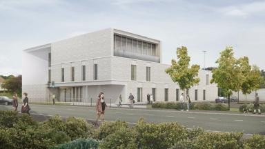 Vision: The design for the new centre in Firrhill, south west Edinburgh.