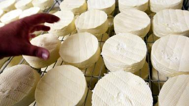Camembert was thrown at shop staff
