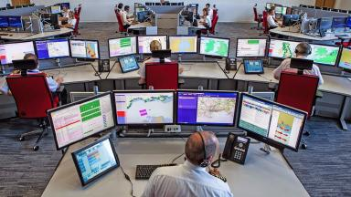 Rescue: The National Maritime Operations Centre in Hampshire (file pic).