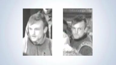 Footage: This man was pictured on CCTV around the time of the assault.