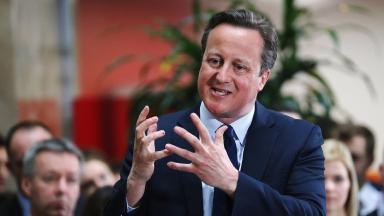 Mr Cameron faces pressure over his family's tax arrangements in the wake of the Panama Papers leaks