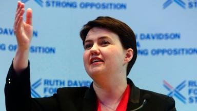 Ruth Davidson April 13 2016