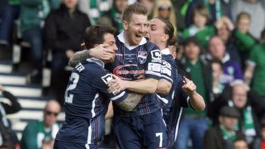 Ross County: Club reinstated website with a different host (file pic).