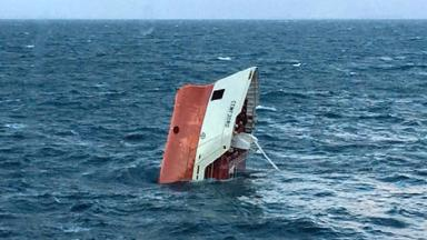 Cemfjord: Capsized and sank in Pentland Firth.