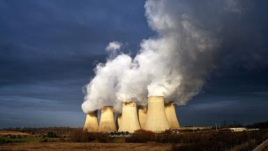 The UK government faces criticism for fossil fuels still used at home.