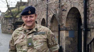 Reverend Anderson: Served as a padre for The Black Watch (3 SCOTS) between 2007 and 2010.