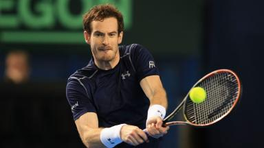 Number one: Andy Murray got his year off to a winning start.