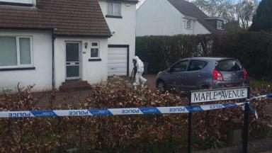Death: Body of woman discovered at her home in Newton Mearns.