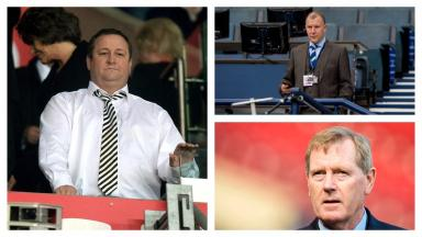 War of words: The Scottish FA have hit back at Mike Ashley.