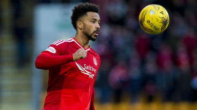 Shay Logan on his reasons for signing fresh Aberdeen deal