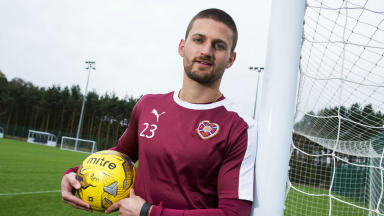 Perry Kitchen positive for Hearts future