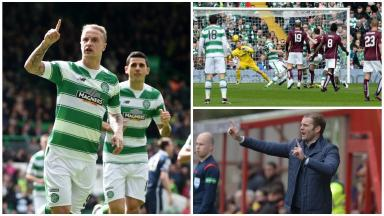 Clincher: Celtic can win the title at Tynecastle.