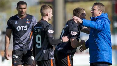 Boost: Killie claimed a big win at New Douglas Park.