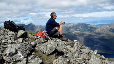 Climber: Jim Robertson was reported missing in March.