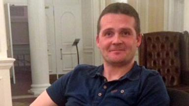Iain Stuart: Among 13 killed when helicopter went down.