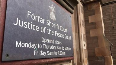 Forfar Sheriff COurt quality news image cropped for web uploaded May 5 2016