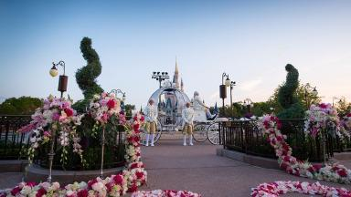 Magical: Couples' dreams could come true at Disneyland Florida.