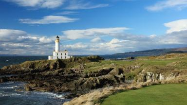 Novelty: The Lighthouse suite means guests at Trump Turnberry hotel can stay in Turnberry Lighthouse.