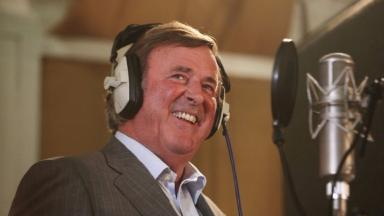 Sir Terry Wogan was well-known for his dulcet tones and cheeky quips.