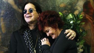 Ozzy and Sharon Osbourne, pictured in 2007