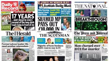 Front pages: Tuesday May 10.
