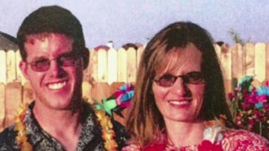 Murder: Christopher and Kim Higginbotham were found shot at their home in California. (file pic)