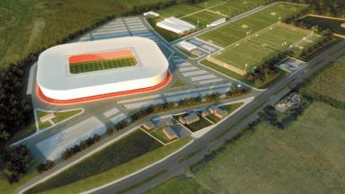 Kingsford: Dons claim the development will be a 'focal point for footballing excellence'.