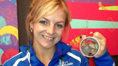 Stephanie Inglis: Won silver medal at the Glasgow Commonwealth Games (file pic).