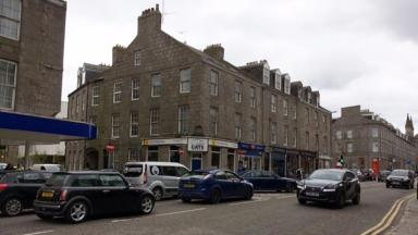 Collision: The incident happened on Aberdeen's King Street.