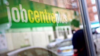 Jobcentre: Ten closed across Scotland from last year.