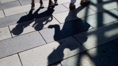 children shadows