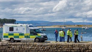 Findhorn Bay: Frank White died when boat overturned.