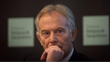 Tony Blair: Admitted to some regrets over intervention in Iraq.