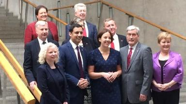 Shadow Cabinet: Labour say the team will hold the SNP 'to account'.