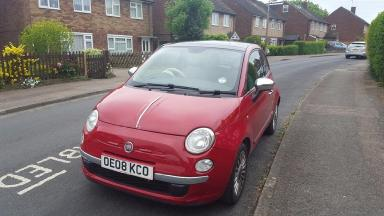 A Hertfordshire based eBay seller has relisted an ad for the car that