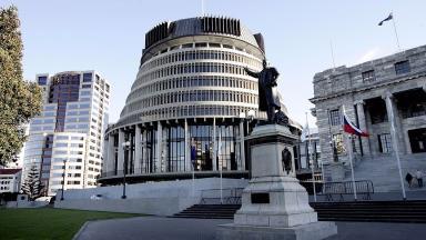 New Zealand's parliament building in Wellington.