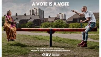 The Operation Black Vote poster