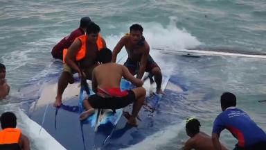 Two people are believed to have died in the speedboat accident in Thailand.