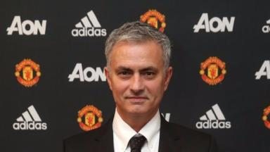 Jose Mourinho has signed a three-year contract at Old Trafford.