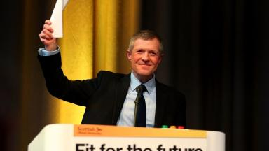 Willie Rennie: Spoke on the opening day of his party's conference.