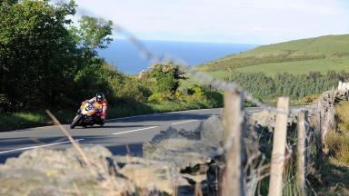 TT race: Motorcyclist killed.