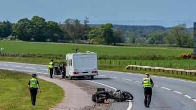 Crash: Police said a father and his 12-year-old son were injured in the collision.