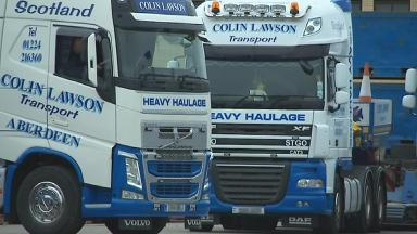 Colin Lawson: Man killed in accident at transport firm.