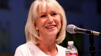 Helen Mirren: Hollywood star joins water plant campaign (file pic).