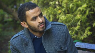 Yousif Badri: 'I don't think I feel like I should run away - there's no need to hide.'