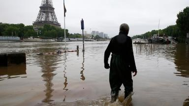 Paris is tackling its severest floods in decades.