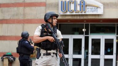 UCLA: Shooting has been called a 'murder-suicide' by police.