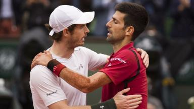 Andy Murray, Novak Djokovic, French Open